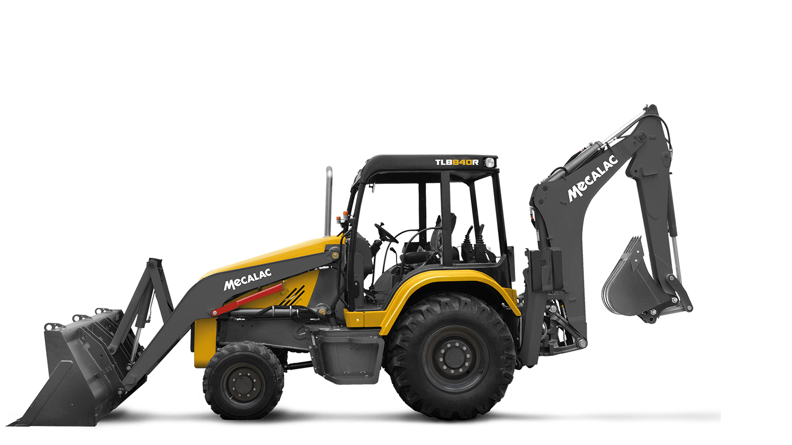 Backhoe Loaders - Center Mount